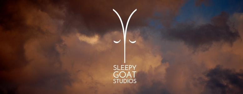 Logo design for video production company Sleepy Goat Studios.